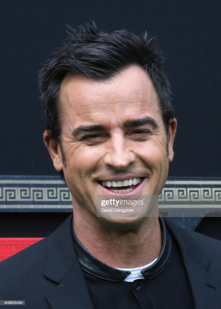 Actor Justin Theroux attends the premiere of Warner Bros. Pictures' 'The LEGO Ninjago Movie' at the Regency Village Theatre on September 16, 2017 in Westwood, California.