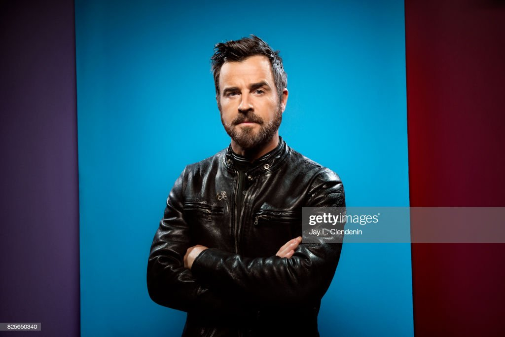 Actor Justin Theroux, from the film 'The Lego Ninjago Movie,' is photographed in the L.A. Times photo studio at Comic-Con 2017, in San Diego, CA on July 21, 2017.
