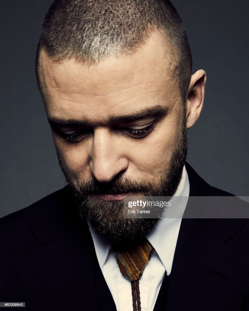 Actor Justin Timberlake of 'Wonder Wheel' poses for a portrait at the 55th New York Film Festival on October 14, 2017.