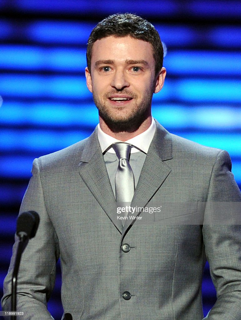 Actor Justin Timberlake speaks onstage during The 2011 ESPY Awards at Nokia Theatre L.A. Live on July 13, 2011 in Los Angeles, California.