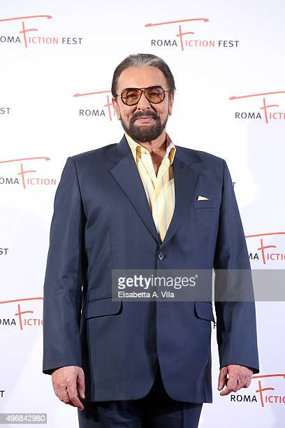 Actor Kabir Bedi attends a photocall for 'Buddha King of Kings' during the 9th Roma Fiction Fest at Cinema Adriano on November 12 2015 in Rome Italy