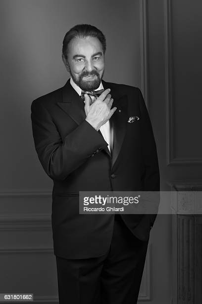 Actor Kabir Bedi is photographed for Self Assignment on December 4 2016 in Rome Italy