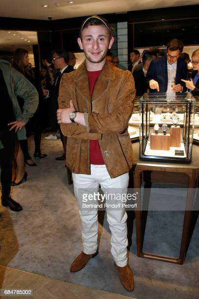 Actor Kacey MottetKlein attends the Montblanc ChampsElysees Flagship Reopening on May 18 2017 in Paris France