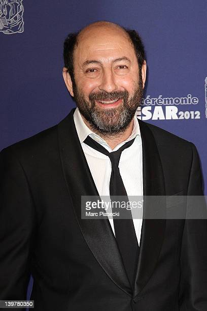 Actor Kad Merad attends the 37th Cesar Film Awards at Theatre du Chatelet on February 24 2012 in Paris France
