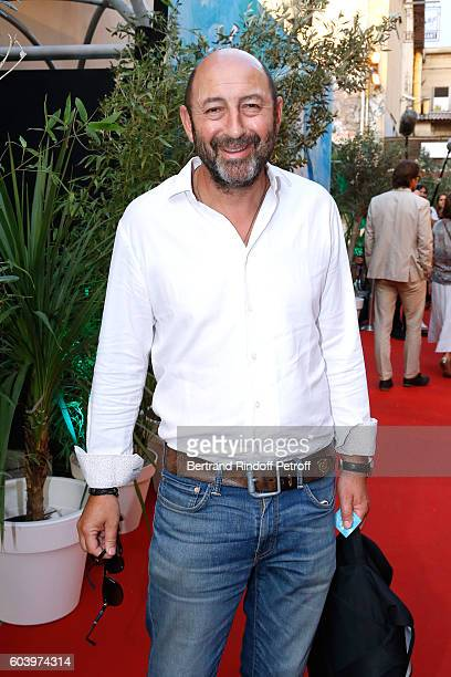 Actor Kad Merad attends the Cezanne et Moi Premiere Held at the Cinema Le Cezanne on September 12 2016 in AixenProvence France