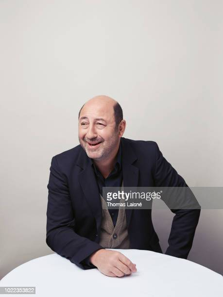Actor Kad Merad is photographed for Le Parisien on April 2018 in Paris France