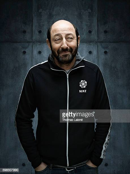 Actor Kad Merad is photographed for Self Assignment on February 18 2010 in Paris France