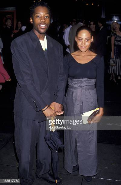 Actor Kadeem Hardison and actress Cree Summer attend the premiere of Mo' Better Blues on July 23 1990 at the Ziegfeld Theater in New York City