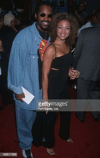 Actor Kadeem Hardison and singer Chante Moore attend the world premiere of How Stella Got Her Groove Back on August 3 1998 at Mann Chinese Theater in...