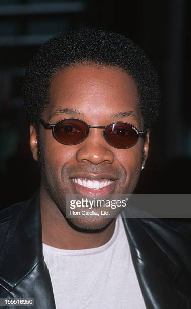 Actor Kadeem Hardison attends the opening of Chicago on May 6 1998 at the Los Angeles Music Center in Los Angeles California