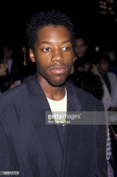 Actor Kadeem Hardison attends the premiere of Mo' Better Blues on July 23 1990 at the Ziegfeld Theater in New York City