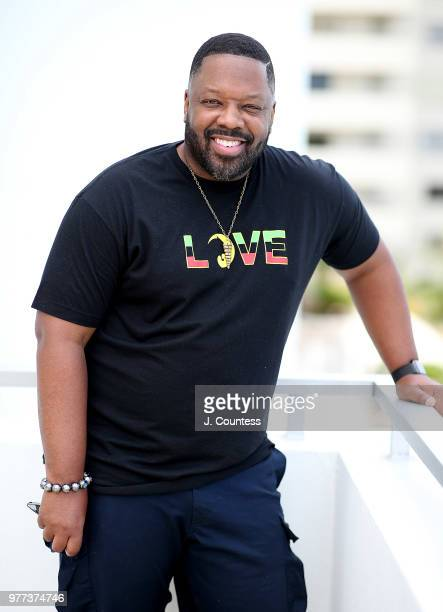 Actor Kadeem Hardison poses for a portrait during the 22nd Annual American Black Film Festival at the Loews Miami Beach Hotel on June 15 2018 in...