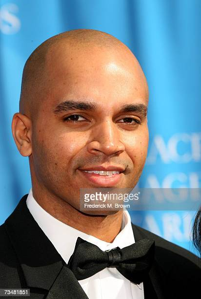 Actor Kadir Nelson arrives at the 38th annual NAACP Image Awards held at the Shrine Auditorium on March 2 2007 in Los Angeles California