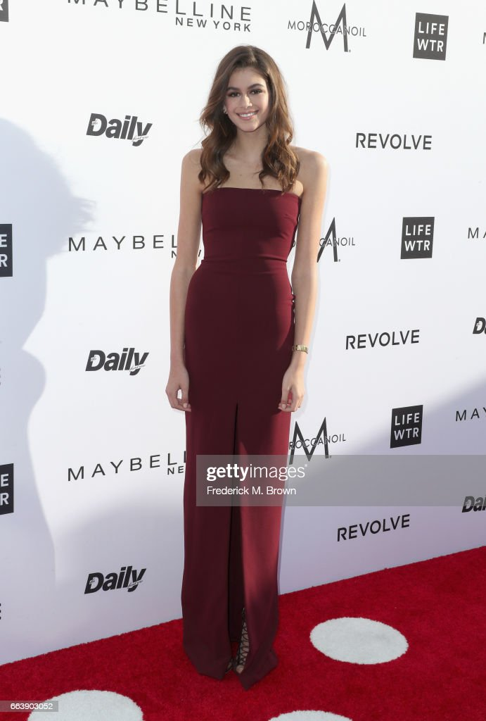 Actor Kaia Gerber attends the Daily Front Row's 3rd Annual Fashion Los Angeles Awards at Sunset Tower Hotel on April 2, 2017 in West Hollywood, California.