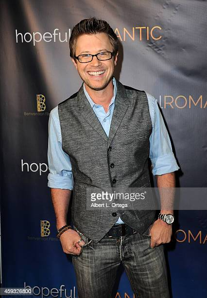 Actor KajErik Eriksen arrives for the Special Screening of Matt Zarley's hopefulROMANTIC With George Takei held at American Film Institute on...