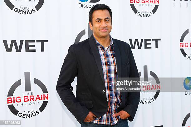 Actor Kal Penn attends 'The Big Brain Theory: Pure Genius' premiere party on April 23, 2013 in Sun Valley, California.