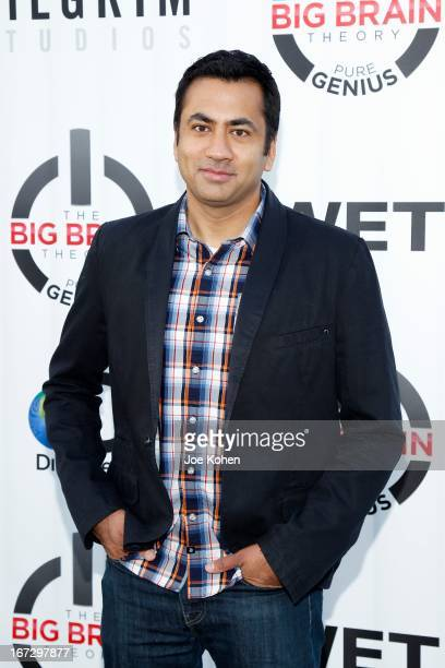"""Actor Kal Penn attends the """"The Big Brain Theory: Pure Genius"""" Premiere Party on April 23, 2013 in Sun Valley, California."""