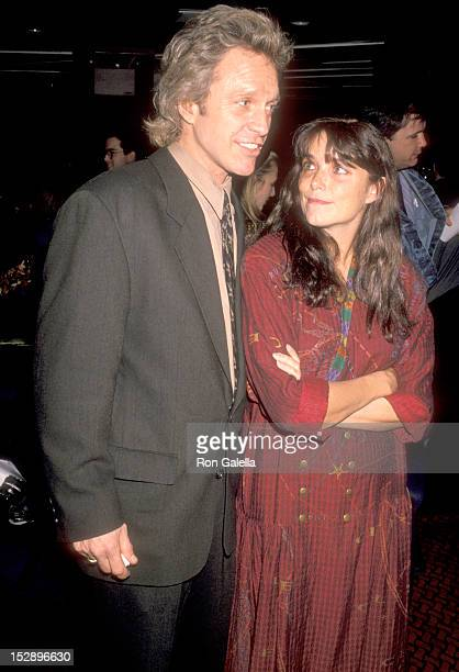 Actor Kale Browne and Actress Karen Allen attend The Casting Society of America's Sixth Annual Artios Awards on January 31 1990 at Reins Nightclub in...