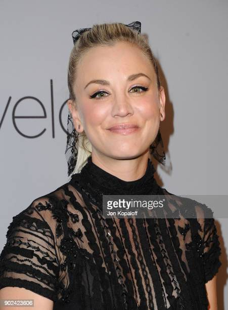 Actor Kaley Cuoco attends 19th Annual PostGolden Globes Party hosted by Warner Bros Pictures and InStyle at The Beverly Hilton Hotel on January 7...