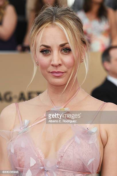 Actor Kaley Cuoco attends the 23rd Annual Screen Actors Guild Awards at The Shrine Expo Hall on January 29, 2017 in Los Angeles, California.