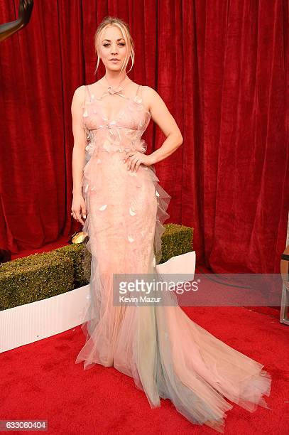 Actor Kaley Cuoco attends The 23rd Annual Screen Actors Guild Awards at The Shrine Auditorium on January 29 2017 in Los Angeles California 26592_011