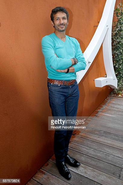 Actor Kamel Belghazi attends Day Twelve of the 2016 French Tennis Open at Roland Garros on June 2 2016 in Paris France