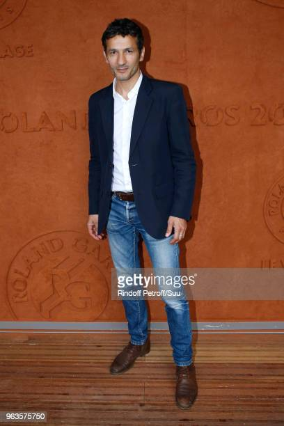 Actor Kamel Belghazi attends the 2018 French Open Day Three at Roland Garros on May 29 2018 in Paris France