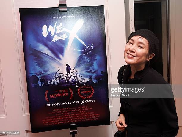 Actor KaoriMomoi attends Screening Of Passion Pictures' We Are X at The London West Hollywood on April 29 2016 in West Hollywood California