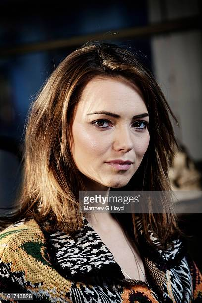 Actor Kara Tointon is photographed for the Times on May 3 2011 in London England