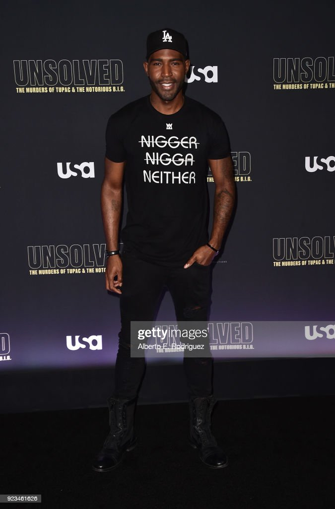 "Premiere Of USA Network's ""Unsolved: The Murders Of Tupac And The Notorious B.I.G."" - Arrivals : News Photo"