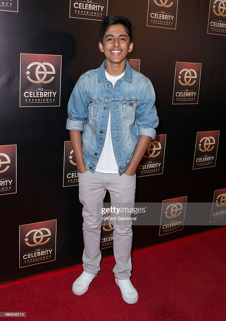 Actor Karan Brar attends The Celebrity Experience panel at Universal Hilton Hotel on July 12, 2015 in Universal City, California.