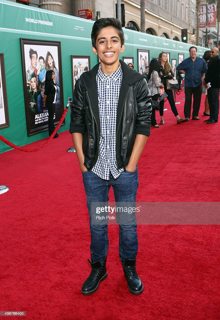 """The World Premiere of Disney's """"Alexander and the Terrible, Horrible, No Good, Very Bad Day"""" - Red Carpet : News Photo"""