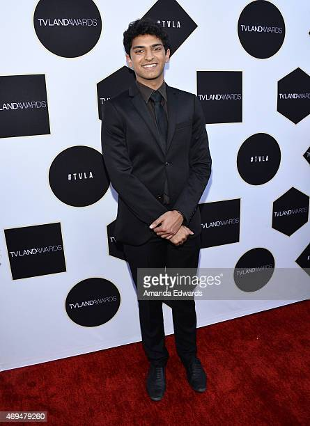 Actor Karan Soni arrives at the 2015 TV LAND Awards at the Saban Theatre on April 11 2015 in Beverly Hills California