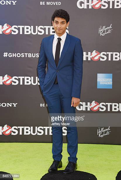 Actor Karan Soni arrives at the Premiere of Sony Pictures' 'Ghostbusters' at TCL Chinese Theatre on July 9 2016 in Hollywood California