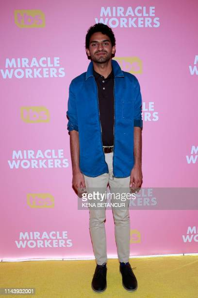 US actor Karan Soni arrives to attend the screening of TBS' Miracle Workers at Buttenwieser Hall in New York on May 14 2019