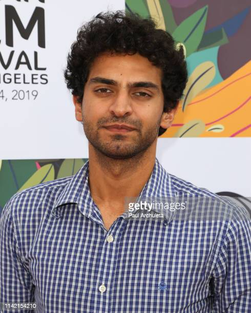 Actor Karan Soni attends the 17th annual Indian Film Festival of Los Angeles opening night premiere of ANDHADHUN at Ahrya Fine Arts Theater on April...
