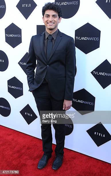Actor Karan Soni attends the 2015 TV LAND Awards at Saban Theatre on April 11 2015 in Beverly Hills California