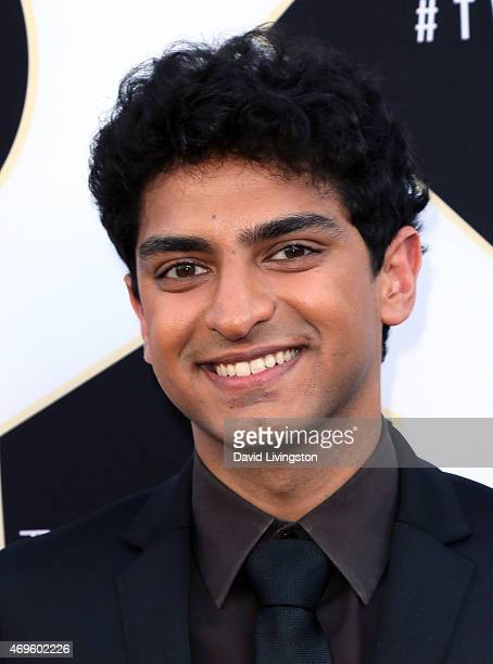 Actor Karan Soni attends the 2015 TV Land Awards at the Saban Theatre on April 11 2015 in Beverly Hills California