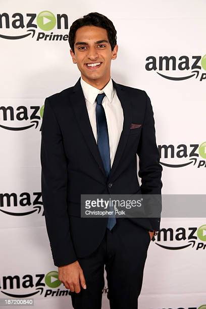 Actor Karan Soni attends the Amazon Studios Launch Party to celebrate the premieres of their 1st original series' Alpha House and Betas at Boulevard3...