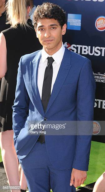 Actor Karan Soni attends the premiere of Sony Pictures' 'Ghostbusters' at TCL Chinese Theatre on July 9 2016 in Hollywood California