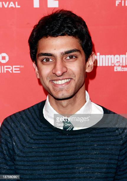 Actor Karan Soni attends the Safety Not Guaranteed premiere during the 2012 Sundance Film Festival held at Prospector Square Theatre on January 22...