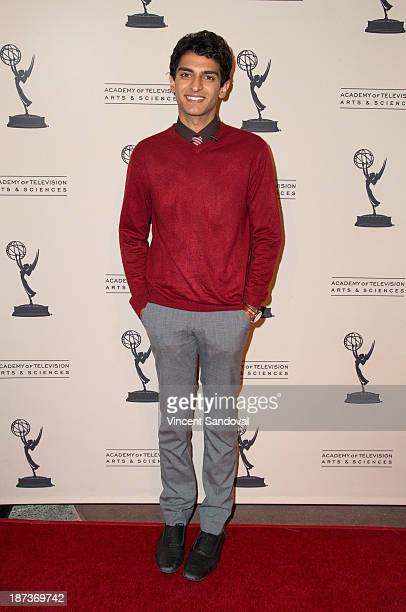 Actor Karan Soni attends The Television Academy presents Amazon Studios at The Television Academy at Leonard H Goldenson Theatre on November 7 2013...