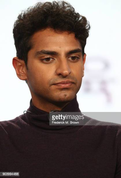 Actor Karan Soni of the TBS television show Miracle Workers speaks onstage during the Turner portion of the 2018 Winter Television Critics...