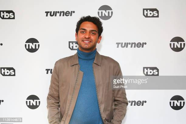 Actor Karan Soni poses for a photo at the Miracle Workers Sundance Hangover Brunch on January 26 2019 in Park City Utah