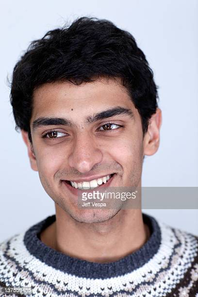 Actor Karan Soni poses for a portrait during the 2012 Sundance Film Festival at the WireImage Portrait Studio at TMobile Village at the Lift on...