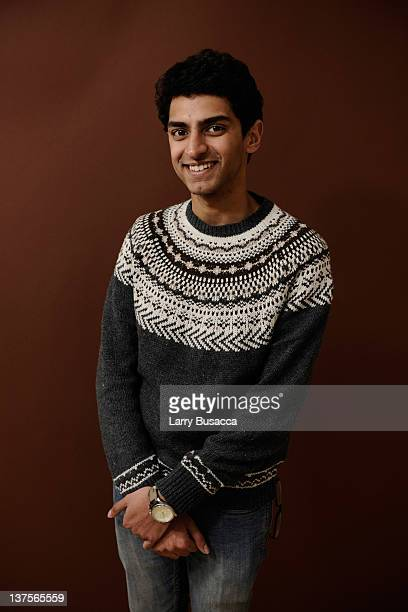 Actor Karan Soni poses for a portrait during the 2012 Sundance Film Festival at the Getty Images Portrait Studio at TMobile Village at the Lift on...