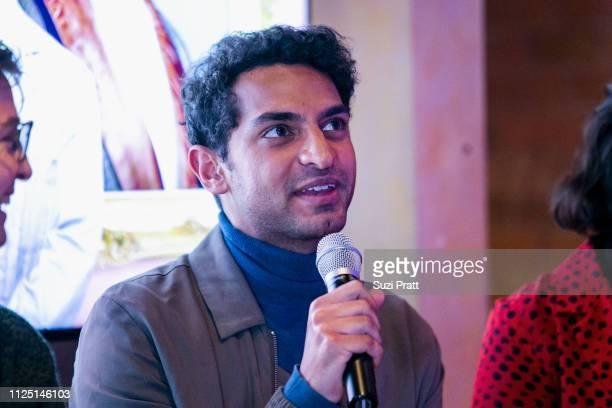 Actor Karan Soni speaks on a panel on January 26 2019 in Park City Utah