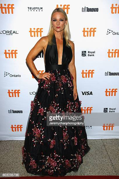 Actor Kari Matchett attends the 'Maudie' premiere held at The Elgin Theatre during the Toronto International Film Festival on September 12 2016 in...