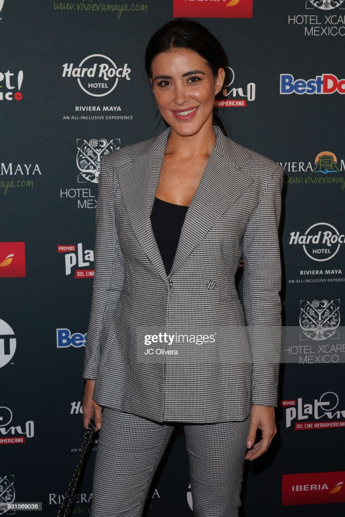 Actor Karina Velazquez attends the 5th Annual Premios PLATINO Of Iberoamerican Cinema Nominations Announcement at Hollywood Roosevelt Hotel on March 13, 2018 in Hollywood, California.