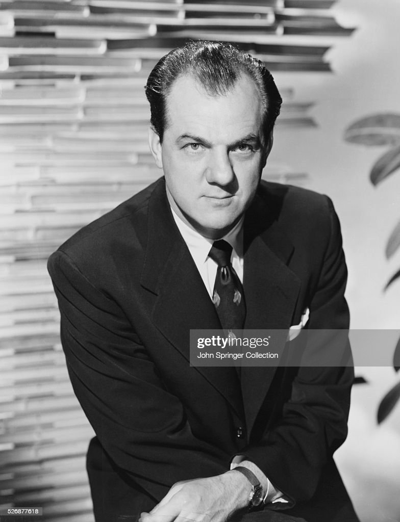 Actor Karl Malden in Suit : News Photo